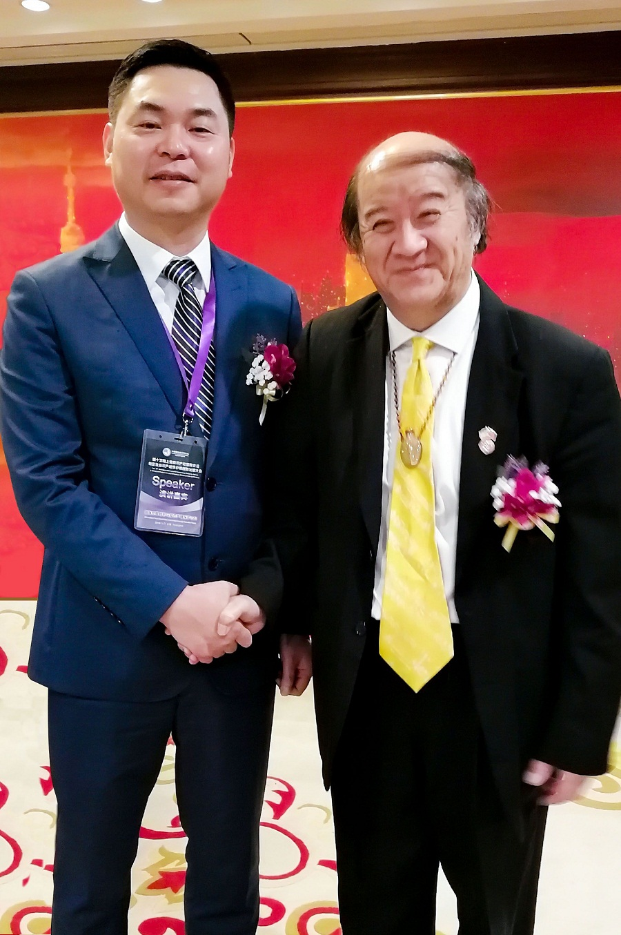 2018进博会进行时,尚标集团董事长林建胜先生受邀发表主题演讲