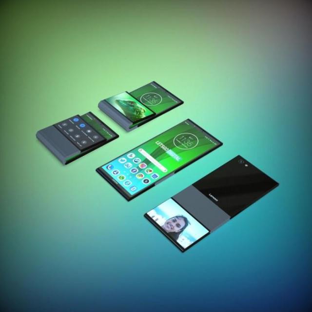 联想可折叠手机专利公示:背面辅屏+柔性铰链