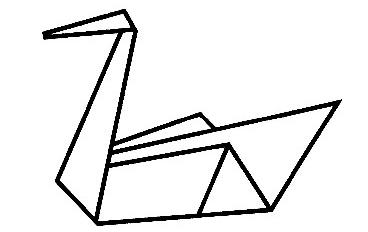 100元纸鹤的折法图解