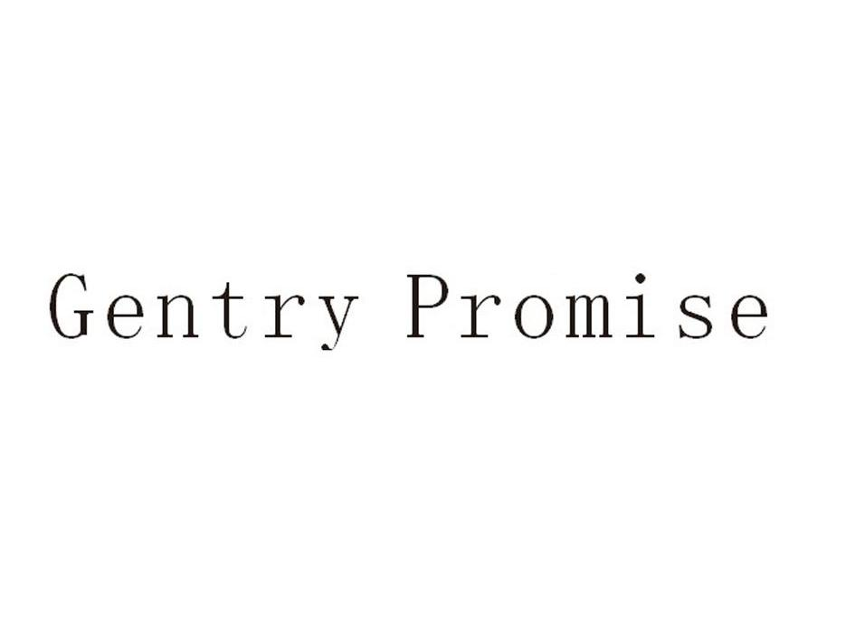 GENTRY PROMISE