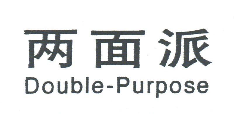 两面派;DOUBLE-PURPOSE