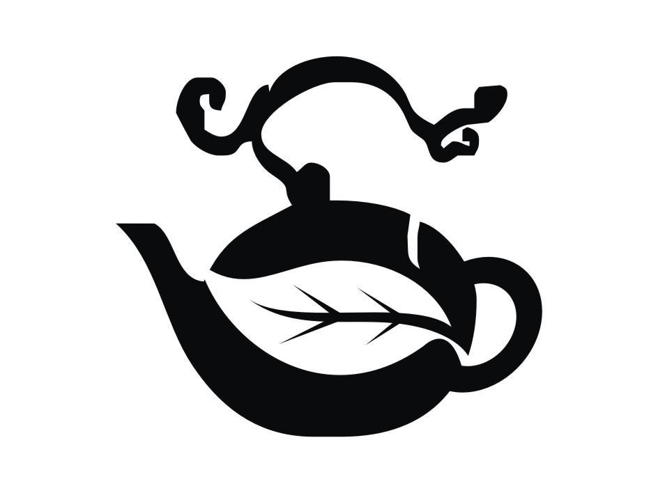 叶子茶壶图形图片