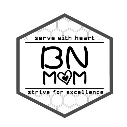 BNMOM SERVE WITH HEART STRIVE FOR EXCELLENCE