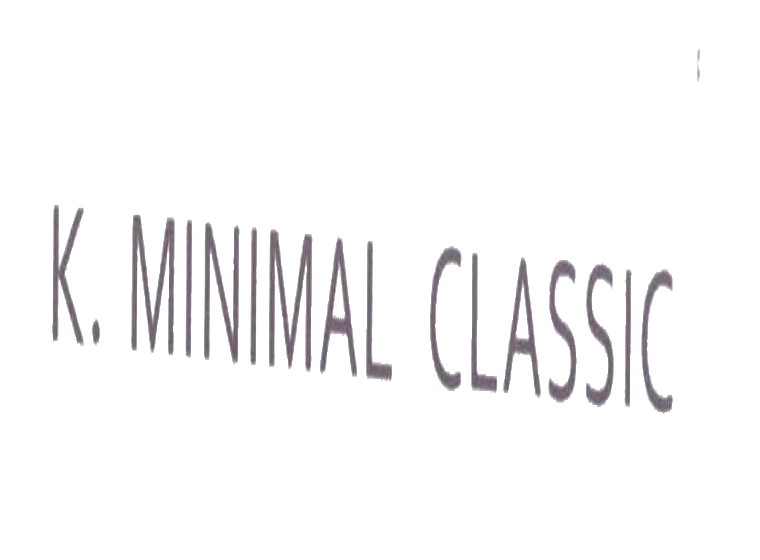 K.MINIMAL CLASSIC