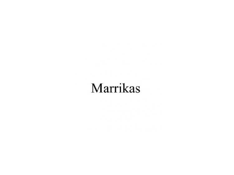 MARRIKAS