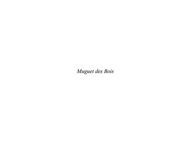 MUGUET DES BOIS