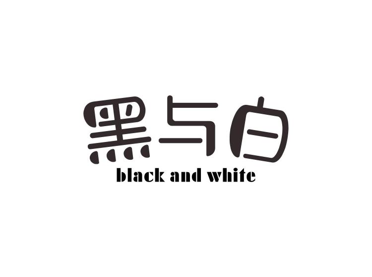 黑与白  BLACK AND WHITE