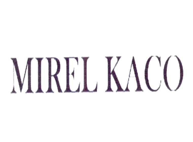 MIREL KACO