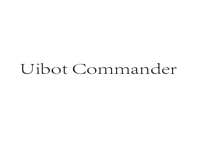 UIBOT COMMANDER