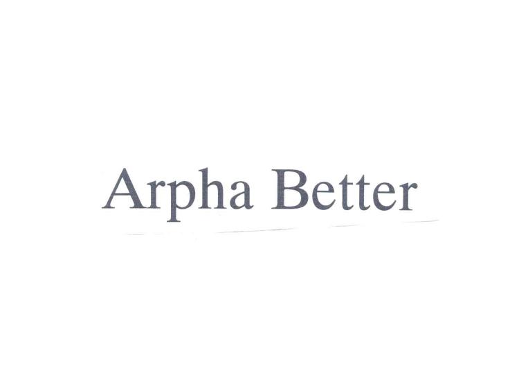 ARPHA BETTER
